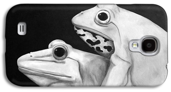 Love Making Galaxy S4 Cases - Froggy Style edit 3 Galaxy S4 Case by Leah Saulnier The Painting Maniac