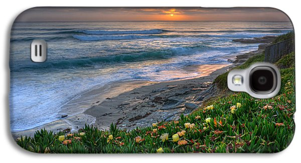 California Beach Art Galaxy S4 Cases - From Above Galaxy S4 Case by Peter Tellone