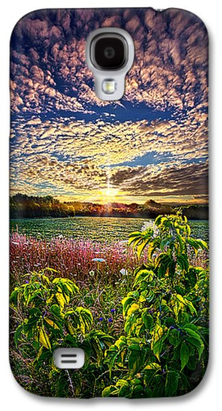 Farming Galaxy S4 Cases - From Here To Eternity Galaxy S4 Case by Phil Koch
