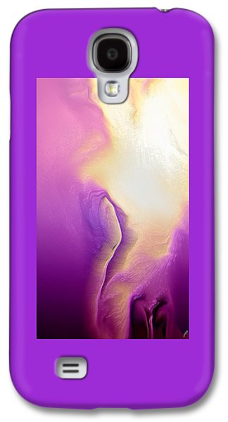 Colorful Abstract Galaxy S4 Cases - Unfaithful woman By Quim Abella Galaxy S4 Case by Joaquin Abella