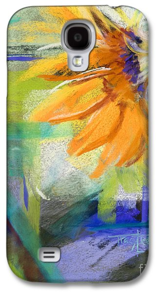 Red Abstract Pastels Galaxy S4 Cases - From the Soil Galaxy S4 Case by Tracy L Teeter