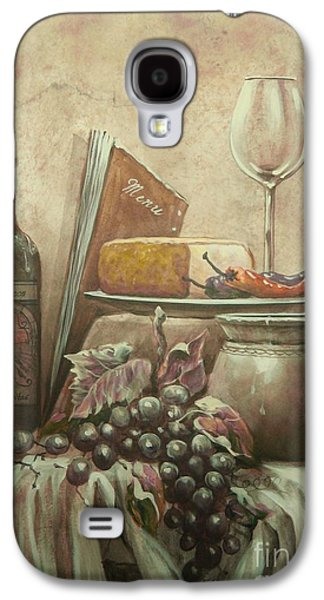 Old Pitcher Paintings Galaxy S4 Cases - From The Vine Galaxy S4 Case by Martin Lacasse