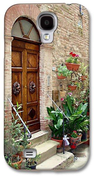 Botanical Galaxy S4 Cases - Front Door Galaxy S4 Case by Ellen Henneke