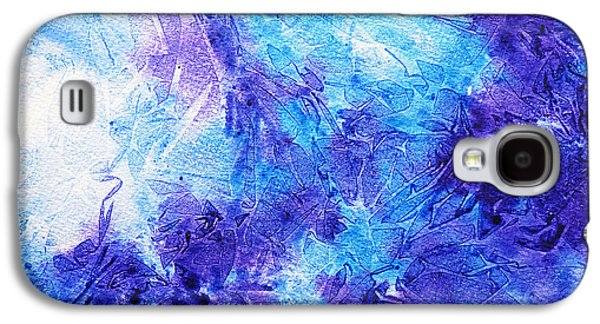 Cold Galaxy S4 Cases - Frosted Blues Fantasy II Galaxy S4 Case by Irina Sztukowski