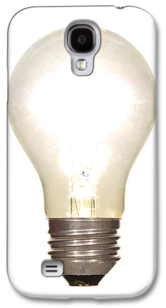 Bulb Galaxy S4 Cases - Frosted Light Bulb Galaxy S4 Case by Olivier Le Queinec
