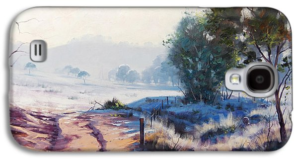 Hamptons Galaxy S4 Cases - Frosty Morning Hampton Galaxy S4 Case by Graham Gercken