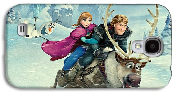 Animation Galaxy S4 Cases - Frozen 256 Galaxy S4 Case by Movie Poster Prints