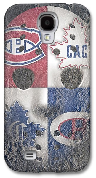 Montreal Canadiens Galaxy S4 Cases - Frozen Canadiens Galaxy S4 Case by Joe Hamilton