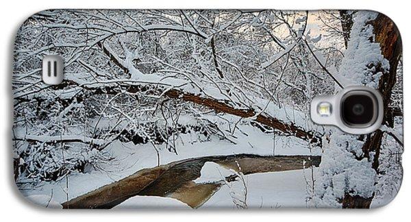 Cold Galaxy S4 Cases - Frozen Creek Galaxy S4 Case by Sebastian Musial