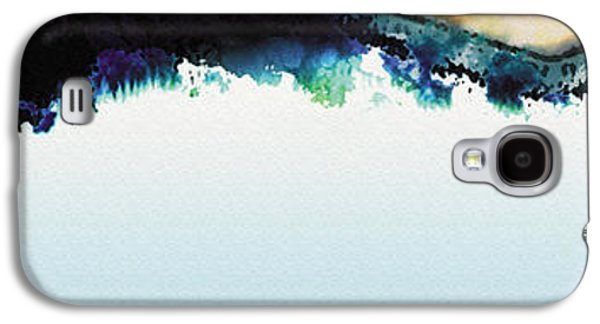 Surreal Landscape Galaxy S4 Cases - Frozen Dreams Galaxy S4 Case by The Art of Marsha Charlebois