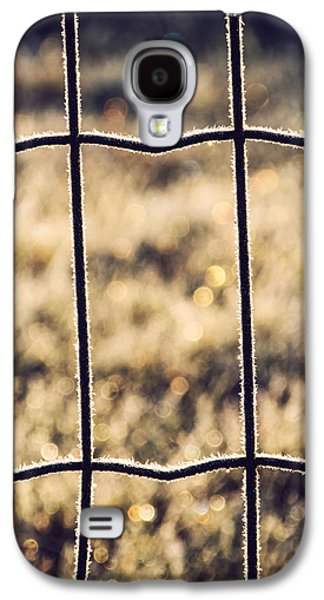 Separation Galaxy S4 Cases - Frozen Fence Galaxy S4 Case by Wim Lanclus