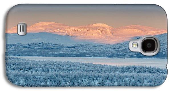 Temperature Galaxy S4 Cases - Frozen Landscape, Cold Temperatures Galaxy S4 Case by Panoramic Images