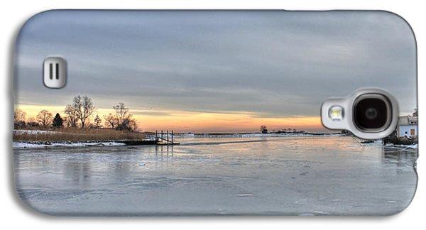 Beach Landscape Galaxy S4 Cases - Frozen Peach Galaxy S4 Case by Digital  Illumination LLC