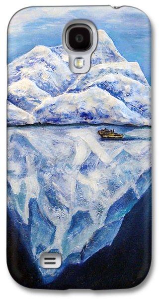 Original Sculptures Galaxy S4 Cases - Frozen Galaxy S4 Case by Raya Finkelson