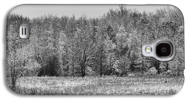 Winter Landscapes Galaxy S4 Cases - Frozen Galaxy S4 Case by Sebastian Musial