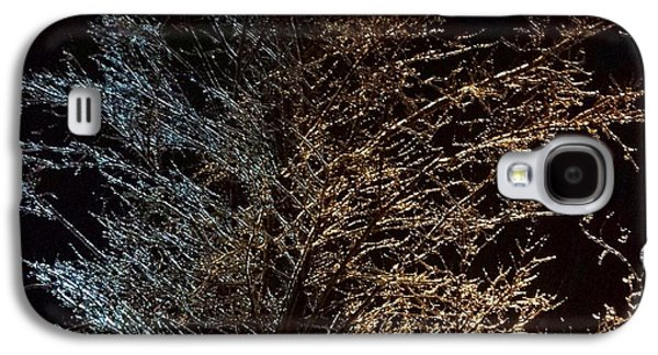 Landscapes Glass Art Galaxy S4 Cases - Frozen wonder  Galaxy S4 Case by Anthony Fishburne