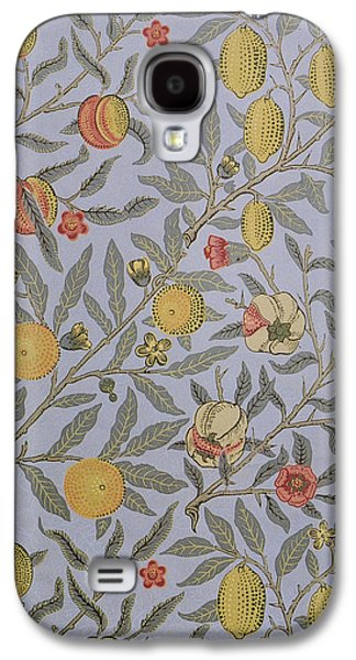 Food And Beverage Tapestries - Textiles Galaxy S4 Cases - Fruit Design 1866 Galaxy S4 Case by William Morris