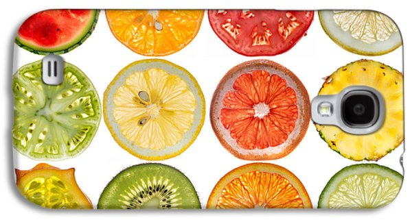 Studio Photographs Galaxy S4 Cases - Fruit Market Galaxy S4 Case by Steve Gadomski