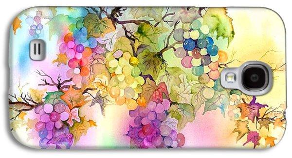 Grape Vine Galaxy S4 Cases - Fruit on the Vine Galaxy S4 Case by Neela Pushparaj