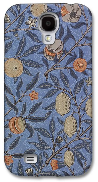 Food And Beverage Tapestries - Textiles Galaxy S4 Cases - Fruit Pattern Galaxy S4 Case by William Morris