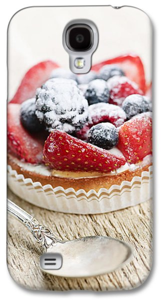 Fruit Tart With Spoon Galaxy S4 Case by Elena Elisseeva
