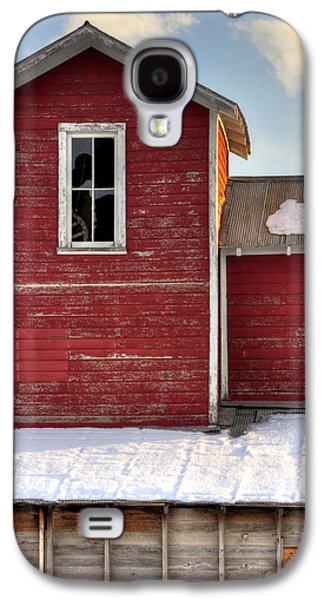 Fort Collins Galaxy S4 Cases - Ft Collins Barn 13496 Galaxy S4 Case by Jerry Sodorff