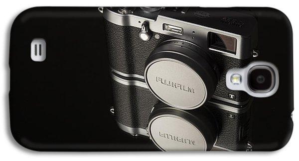 Rangefinder Galaxy S4 Cases - Fujifilm x100t Camera Galaxy S4 Case by Edward Fielding