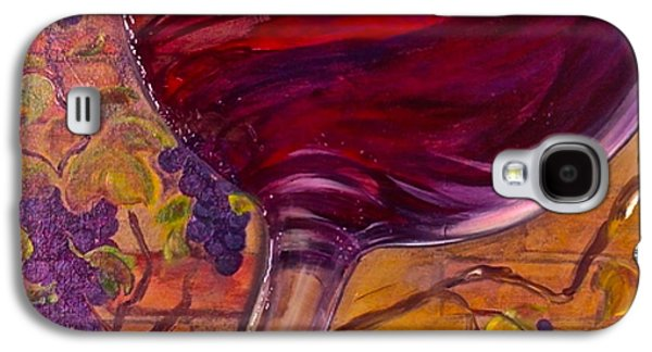 Wine Tasting Galaxy S4 Cases - Full Body Galaxy S4 Case by Debi Starr