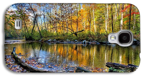 Autumn Landscape Photographs Galaxy S4 Cases - Full Box of Crayons Galaxy S4 Case by Debra and Dave Vanderlaan