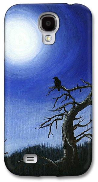 People Galaxy S4 Cases - Full Moon Galaxy S4 Case by Anastasiya Malakhova