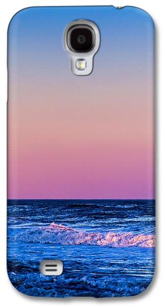 Sea Moon Full Moon Galaxy S4 Cases - Full Moon at Sea Galaxy S4 Case by Ryan Moore