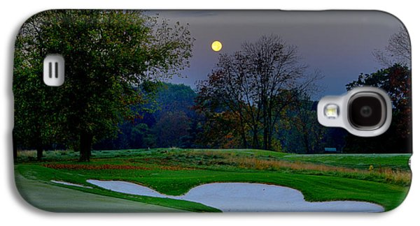 Philadelphia Cricket Galaxy S4 Cases - Full Moon at the Philadelphia Cricket Club Galaxy S4 Case by Bill Cannon