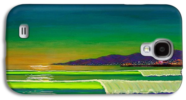 Full Moon On Venice Beach Galaxy S4 Case by Frank Strasser