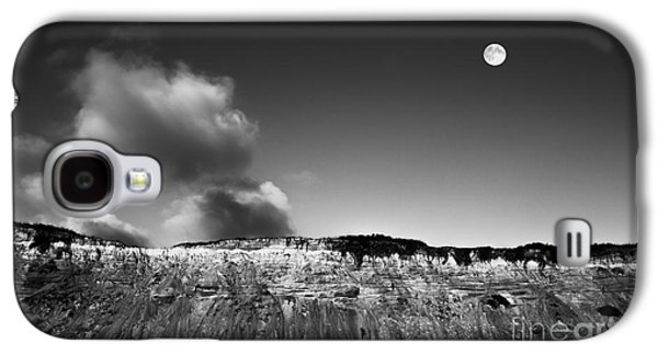 Cape Cod Galaxy S4 Cases - Full Moon Over Cape Cod Galaxy S4 Case by Diane Diederich