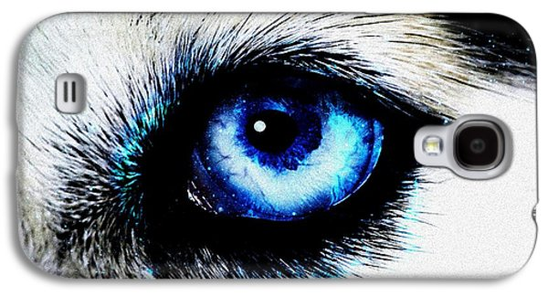 Light Galaxy S4 Cases - Full Moon Reflection Galaxy S4 Case by Anastasiya Malakhova