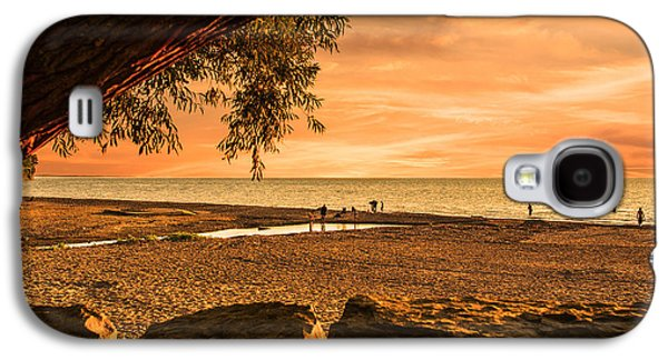 Waterscape Galaxy S4 Cases - Fun at the Beach Galaxy S4 Case by Jim Markiewicz