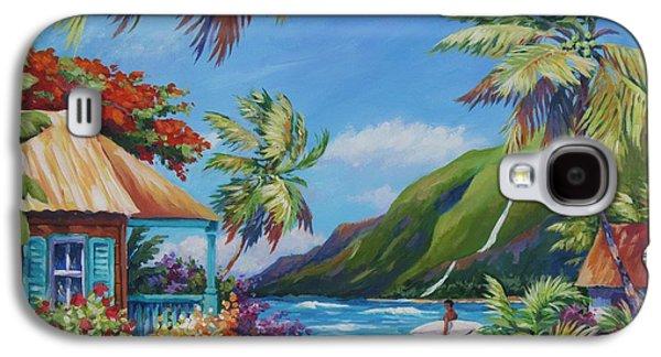 Botanical Galaxy S4 Cases - Fun Day Ahead Galaxy S4 Case by John Clark