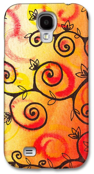 Bold Style Galaxy S4 Cases - Fun Tree Of Life Impression I Galaxy S4 Case by Irina Sztukowski