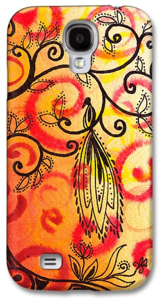 Bold Style Galaxy S4 Cases - Fun Tree Of Life Impression II Galaxy S4 Case by Irina Sztukowski