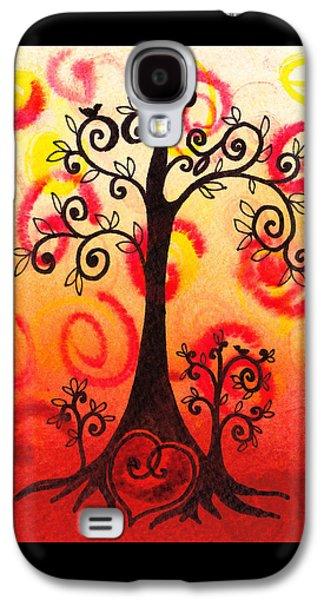 Fun Tree Of Life Impression Vi Galaxy S4 Case by Irina Sztukowski