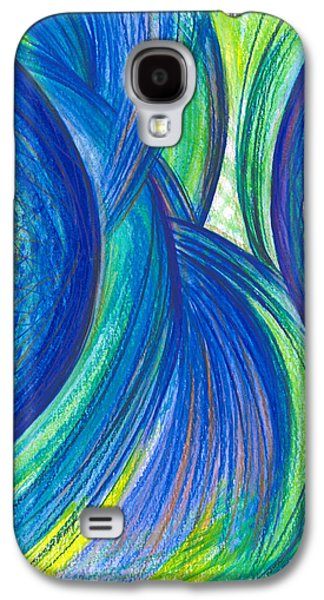 Thought Drawings Galaxy S4 Cases - Fun with Ideas Galaxy S4 Case by Kelly K H B