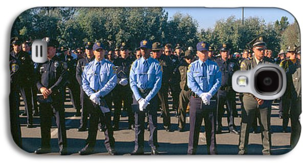 Police Officer Galaxy S4 Cases - Funeral Service For Police Officer Galaxy S4 Case by Panoramic Images