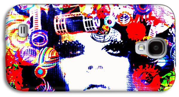 Hairstyle Digital Galaxy S4 Cases - Funky Hair in Bali Galaxy S4 Case by Funkpix Photo Hunter