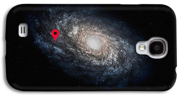 Enterprise Galaxy S4 Cases - Funny Astronomy Universe  Nerd Geek Humor Galaxy S4 Case by Philipp Rietz