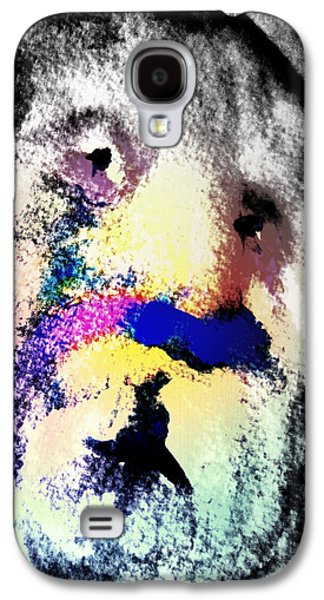 Luminous Body Galaxy S4 Cases - Funny Face Galaxy S4 Case by Hilde Widerberg