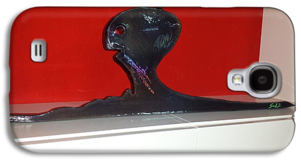Iron Sculptures Galaxy S4 Cases - Funny Gost Galaxy S4 Case by Dennis Smiderle