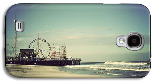 Funtown Pier Seaside Heights New Jersey Vintage Galaxy S4 Case by Terry DeLuco