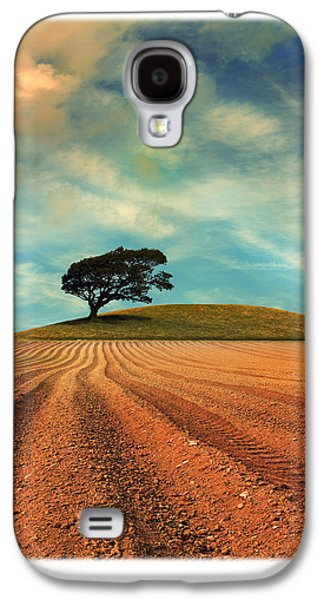 Trees Photographs Galaxy S4 Cases - Furrows Galaxy S4 Case by Mal Bray