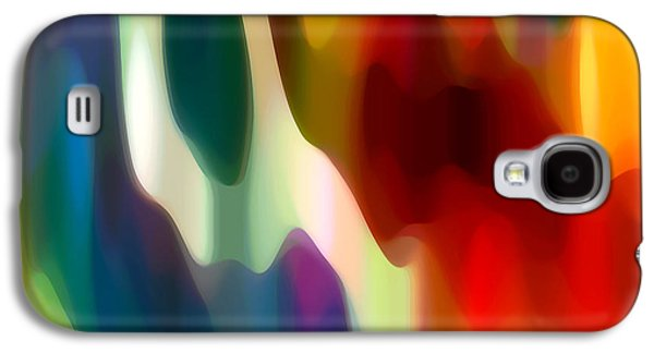Abstract Movement Galaxy S4 Cases - Fury 2 Galaxy S4 Case by Amy Vangsgard