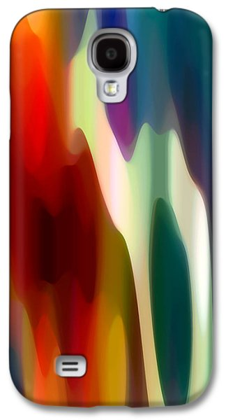 Abstract Forms Digital Galaxy S4 Cases - Fury 3 Galaxy S4 Case by Amy Vangsgard